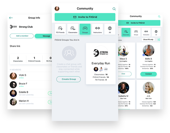 FItGrid Class App Groups